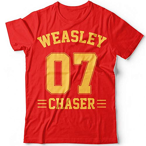 (Weasley 07 Chaser Player Wizards Character Halloween Costume Customized T-Shirt Hoodie_Long Sleeve_Tank)