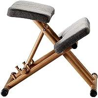 Elegante forma ergonómica silla arrodillada, altura ajustable - Asientos de oficina, silla de corrección de postura para el aula, perfecta para aliviar el dolor de espalda y cuello y mejorar la postur