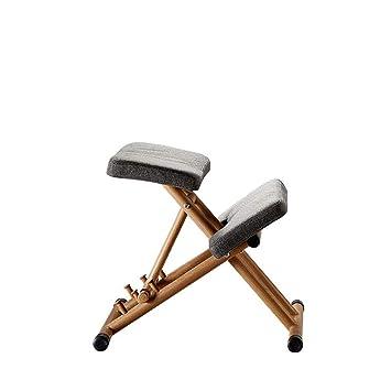 Yoga Chair Elegante Forma ergonómica Silla arrodillada ...