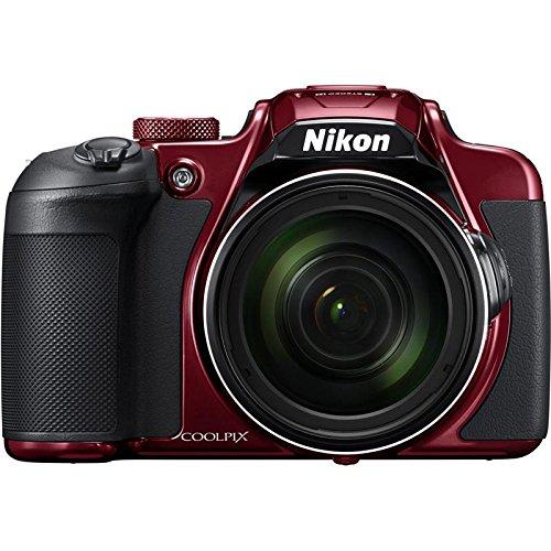 Nikon COOLPIX B700 20.2MP Compact Digital Camera - Red (International Version No Warranty)