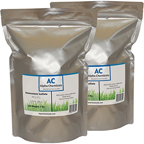 Ammonium Sulfate - (NH4)2SO4 - 10 Pounds