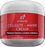 Art Naturals Cellulite Away Treatment Cream 120ml- Contains Proven Anti Cellulite Retinol, Caffeine, & Seaweed - Best Body Firming, Tightening & Toning - Erase Dimples from Legs, Arms, Stomach & Buttocks