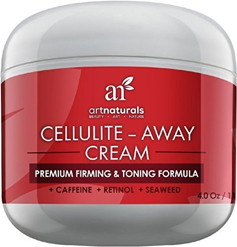 ArtNaturals Anti Cellulite Zellulitis Creme - mit Retinol, Koffein & Seetang - 120 ml