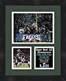 #9: 2018 Super Bowl Super Bowl LII (52) Champions Philadelphia Eagles Framed 11 x 14 Matted Collage Framed Photos Ready to hang