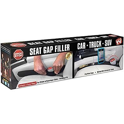 Drop Stop - The Original Patented Car Seat Gap Filler - Set of 2 (AS SEEN ON SHARK TANK)