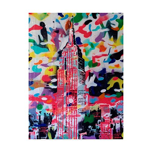 Trademark Fine Art New York Camo by Abstract Graffiti