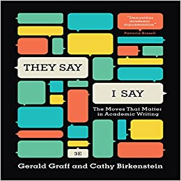 "they say i say essay format The best-selling book on academic writing—in use at more than 1,500 schools""they say / i say the template format is a good way to barnes & noble café."