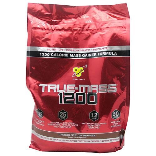 BSN BSN True Mass 1200, Chocolate Milkshake, 10.25 lb