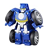 transformers car - Playskool Heroes Transformers Rescue Bots Flip Racers Chase the Police-Bot