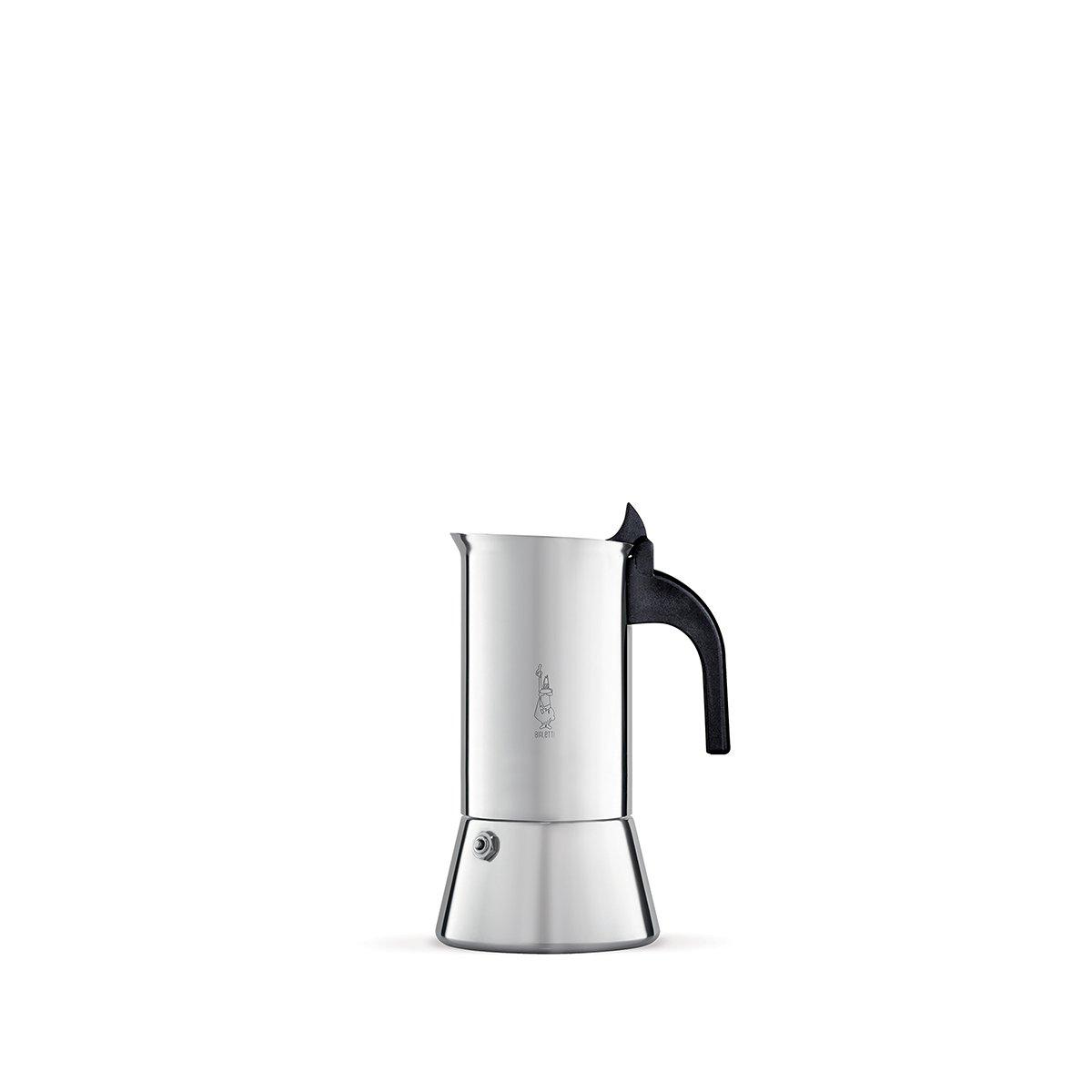 Bialetti Venus 2 (Italian Espresso Size Cups) Stainless Steel Espresso Maker by Bialetti