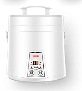 Old fashioned Rice Cooker (1.6liters/300W/220V) Home Intelligent Insulation Multi-function Quality Inner Pot Spoon Steamer And Measuring Cup Mini Dormitory Small Appliances Can Accommodate Up To 3 Peo