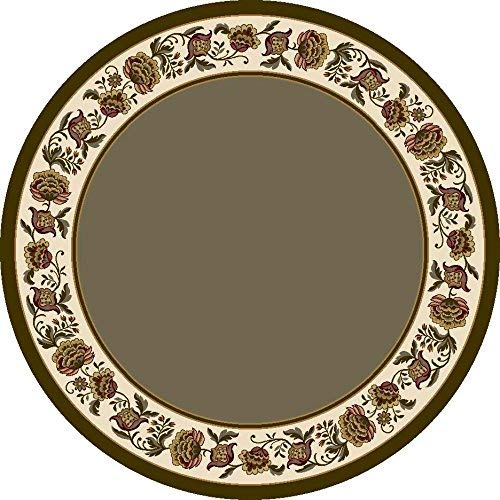 - Milliken Signature Collection Penelope Round Area Rug, 7'7