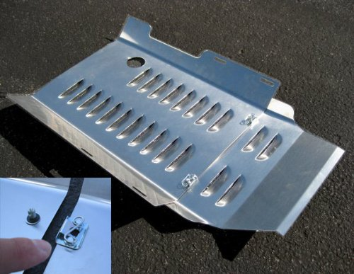 Champion Honda Goldwing GL 1800 Stainless Steel Vented Belly Pan.
