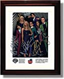 Framed The Big Bang Theory Autograph Replica Print - The Big Band Theory Cast