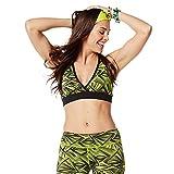 Zumba-Fitness-Womens-So-Funky-V-Bra-Zumba-Green-Large