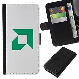 NEECELL GIFT forCITY // Billetera de cuero Caso Cubierta de protección Carcasa / Leather Wallet Case for LG OPTIMUS L90 // AMD