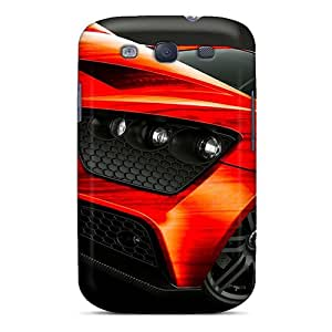 Waterdrop Snap-on Red Zenovo St1 Hdr Case For Galaxy S3