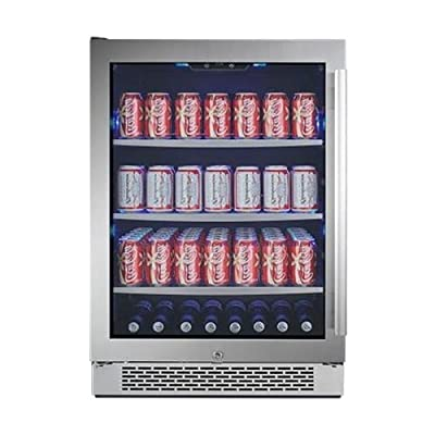 Avallon ABR241GLH 24 Inch Wide Beverage Center with Left Swing Door
