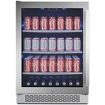 Avallon ABR241SGLH 152 Can Built-In Beverage Cooler - Left Hinge