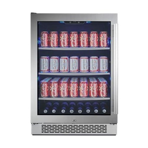 Avallon ABR241SGLH 152 Can Built-In Beverage Cooler Left Hinge (Large Image)