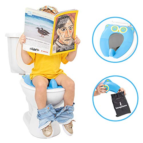 Portable Potty Training Toilet Seat for Boys and Girls – Ideal for Travel and Home – Foldable and Lightweight Potty Chair for Baby, Toddler and Kids