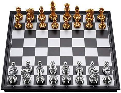 TangMengYun Conjunto de ajedrez Plegable magnético Tablero de ...