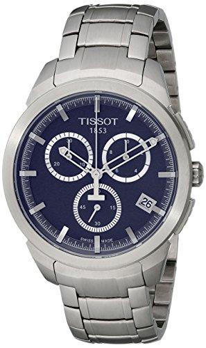 (Tissot Men's T0694174404100 T-Sport Analog Display Quartz Silver Watch)