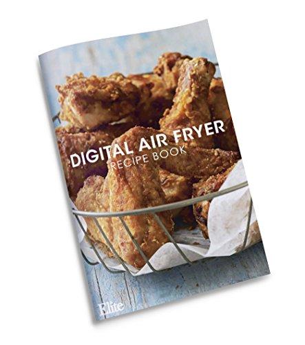Elite Platinum Air Fryer Digital Air Fryer Black