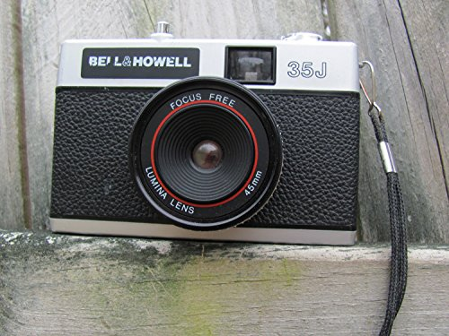 Bell & Howell 35j 35mm Film Camera with Focus Free 45mm Lumina
