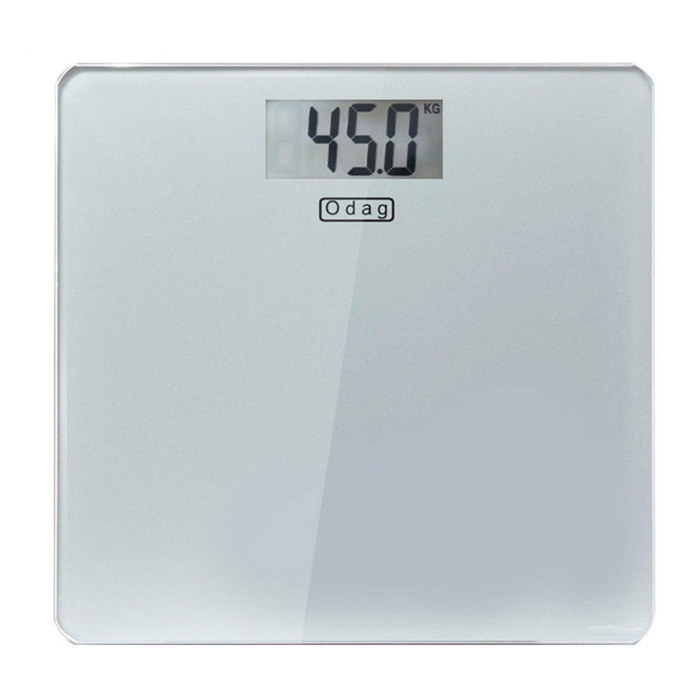 HTZ Báscula electrónica Hogar precisión Protección del medio ambiente Pantalla LCD Escalas de peso escala Básculas de grasa Salud de los adultos Hombres y ...