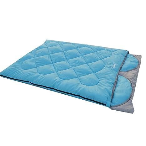 sacos de dormir al aire libre/Doble espesor camping bolsa de dormir mi almuerzo/