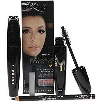 Loreal Extra-Volume Collagene Duo Mascara (with pencil)
