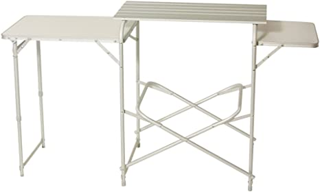 Camp 4 Easy 922411 - Mesa Plegable de Cocina para Camping, Color ...
