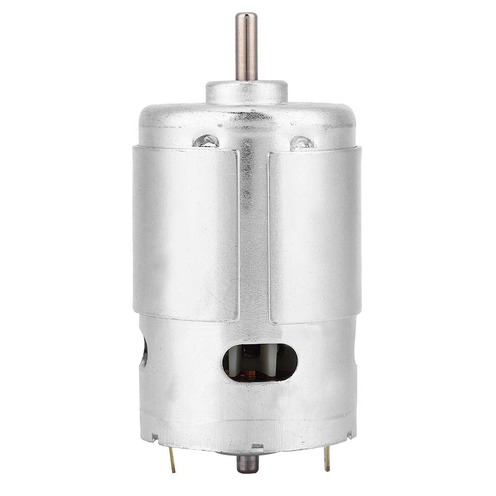 Motor 24V 20000rpm XD-775 12V//24V High Speed Low Noise Double Ball Bearing Brush DC Motor