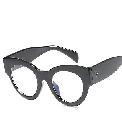 BiuTeFang Gafas de Sol Mujer Hombre Polarizadas Marea de moda de gafas de sol de ojo