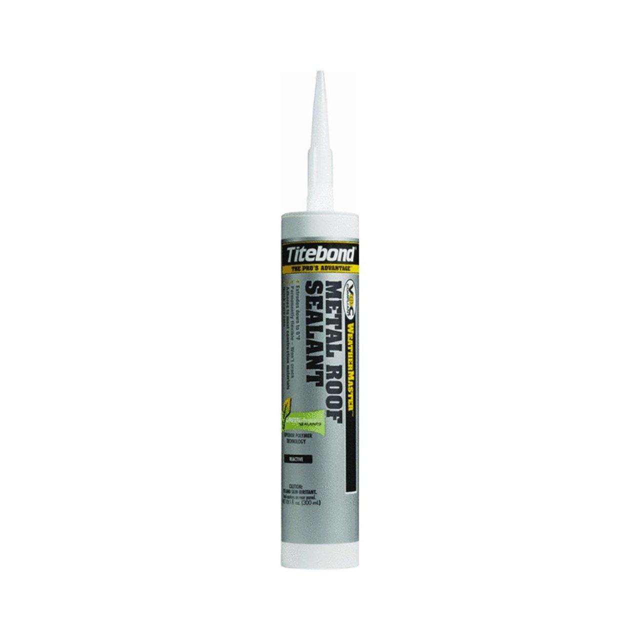5. Titebond Weathermaster metal roof sealant