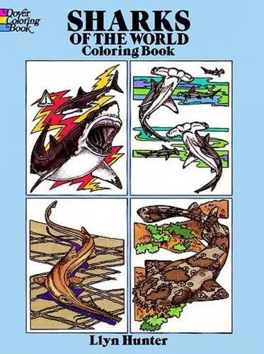 Sharks of the World Coloring Book (Dover Nature Coloring Book) ()