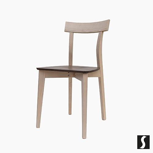 sedia da cucina, sedia moderna, sedia con fondino in legno, sedia ...