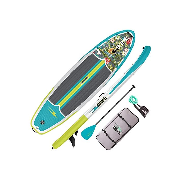 """DRIFT Inflatable Stand Up Paddle Board 10'8"""""""