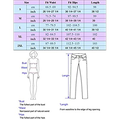 GRACE KARIN Women's Casual Work Cropped Pant Pocket High Waist Button Trouser at Women's Clothing store