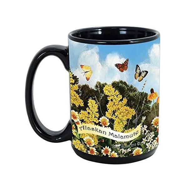 Imprints Plus Dog Breeds (A-D) Alaskan Malamute 15-oz Coffee Mug Bundle with Non-Negotiable K-Nine Cash (alaskan malamute 009) 5