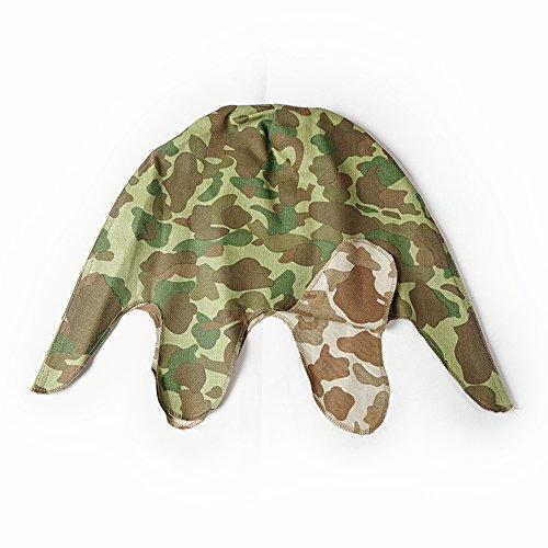 (YBR M1 Helmet Pacific camouflage Cover WW2 WWII US Army Replica)