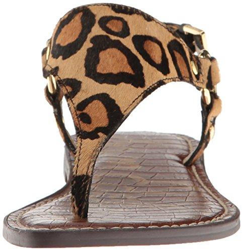 Greta Sandals Women's New Nude Fashion Edelman Leopard Sam w6EPII