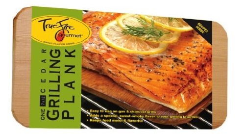 TrueFire Gourmet TFplank 12-1  Cedar Grilling Plank, 7 by 12-Inch by TrueFire Gourmet
