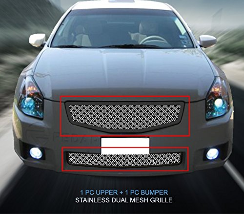 (Fedar Dual Weave Mesh Grille for 2007-2008 Nissan Maxima)