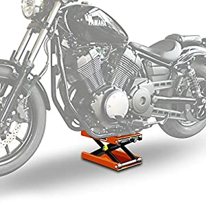 Motorcycle lift ConStands Mid-Lift M for Triumph Bonneville/ SE orange