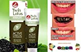 #5: TWIN LOTUS ACTIVE CHARCOAL TOOTHPASTE HERBALISTE Triple Action Powered By Siam-Mana-Group (50g Twin Lotus Active Charcoal Toothpaste Herbaliste Triple Action)