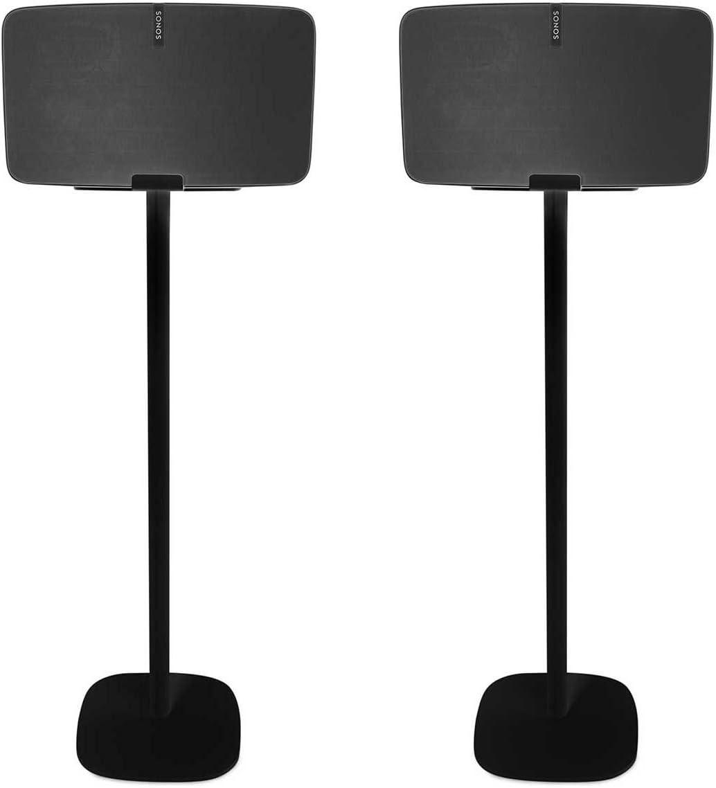 Vebos Support sur Pied Sonos Play 5/Gen 2/Noir Ensemble en Une exp/érience Unique dans Chaque pi/èce/ /De /Vous Permet de Placer Votre Sonos Play 5/Exactement l/à o/ù Vous Le Souhaitez/