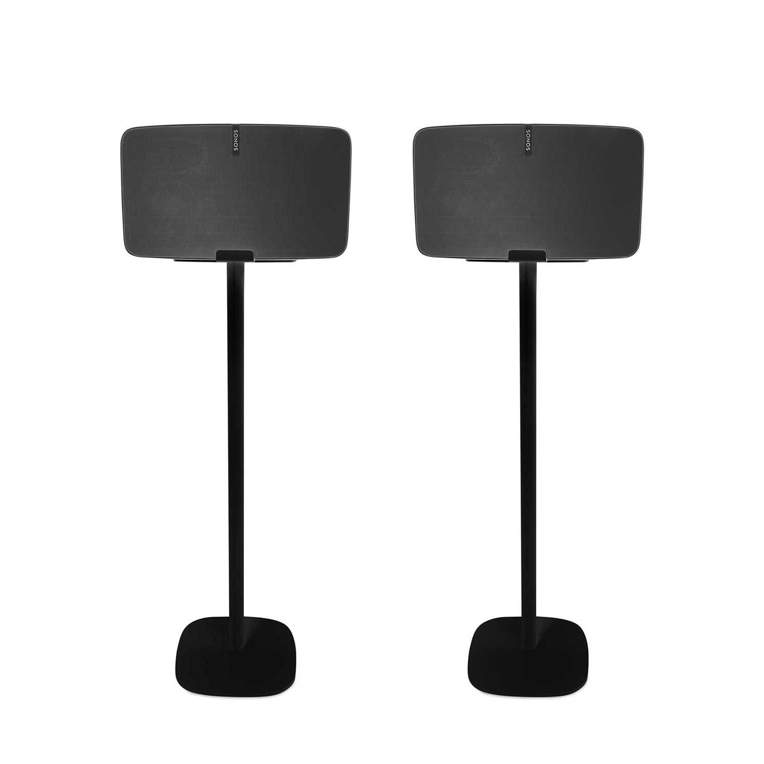 Vebos floor stand Sonos Play 5 gen 2 black set en optimal experience in every room - Allows you to place your SONOS PLAY 5 exactly where you want it - Two years warranty