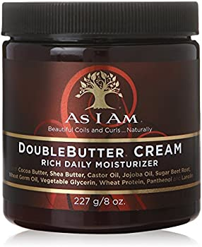 As I Am 8 Oz Split Ends Repairs Double Butter Daily Moisturizer Cream